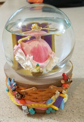 "Disney Cinderella Musical Snow Globe ""A Dream Is A Wish Your Heart Makes"""