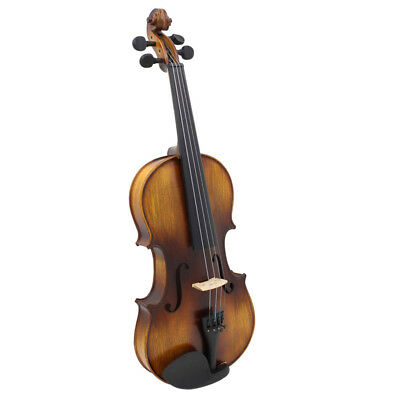 4/4 Full Size Antique Solid Wood AV-508 Matte Handmade Violin fiddle