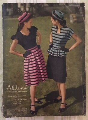 True Vintage 1946 Aldens Mail Order Catalog Chicago Vintage