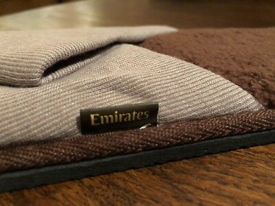 Brand New Emirates 1st Class Slippers Large / Extra Large Emirates First Class!!