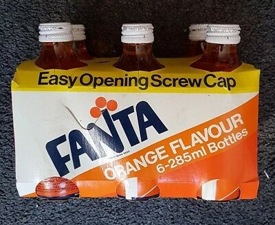 285 Ml 6 Pack Fanta Screw Cap Coca Cola Leed. Extremely rare set with carrier