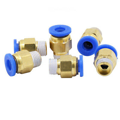 Pneumatic Quick Plug Hot End Hot End Air Intake Brass 3mm Inlet (6PCS)