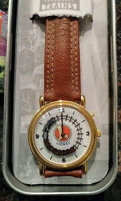 Lionel Train Watch in original case, needs new battery, great shape!