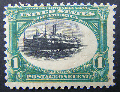 US Stamp 1901 1c Pan American Exposition Issue Scott # Mint OG NH