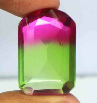 46.20Ct EGL Certified Multi Color Ametrine Attractive Fancy Shape Gemstone BY792