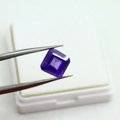 8.70Ct EGL Certified Natural Finest Emerald Cut Awesome Blue Sapphire Gems AB211