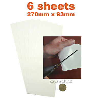 6pk Double Sided Adhesive Tissue TAPE SHEETS 270 x 93mm Card Scrapbook Making
