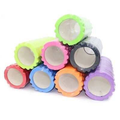 33CM Foam Roller Grid EVA Physio Pilates Yoga Gym Exercise Trigger Point Home UI