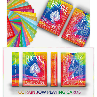 Bicycle Rainbow Playing Cards for Cardistry Poker Card Custom Limited Edition
