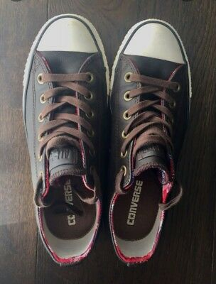Converse Chuck Taylor Brown Leather Size 38