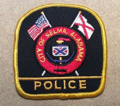 AL Selma Alabama Police Patch