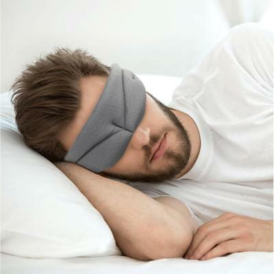Travel 3D Eye Mask Sleep Soft Padded Shade Cover Rest Relax Sleeping Blindfold A