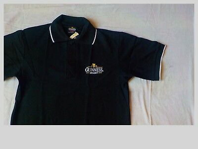 Guinness Polo Shirt Mens