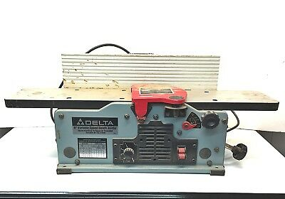 """Delta 6"""" Variable Speed Bench Top JOINTER Model 37-070 estate fresh, one owner"""