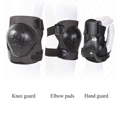 Kids Cycling Roller Skating Protector Gear Pad Guard for Knee Elbow Wrist  4-12Y