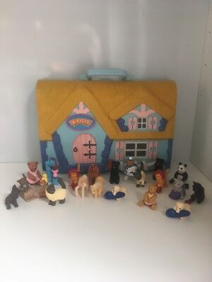 Vintage Puppy, Teddy, Kitty and Pony In My Pocket Collection MEG 1990's Rare