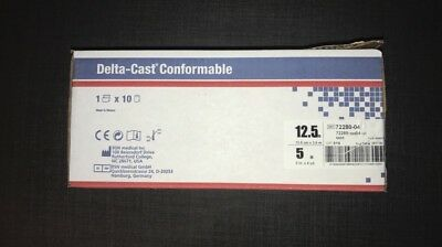 10x DELTA Cast Conformable 12,5 cm x 3,6 m BSN Medical