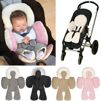 Infant Baby Kids Pram Stroller Car Seat Pillow Cushion Head Body Support Pad Mat