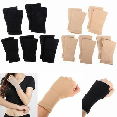 2X Thumb Brace Carpal Tunnel Wrist Elastic Hand Support Strap Bandage Compress