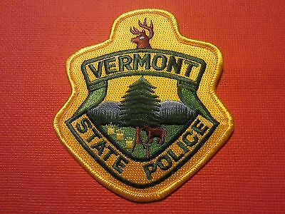 Collectible Vermont State Police Patch New