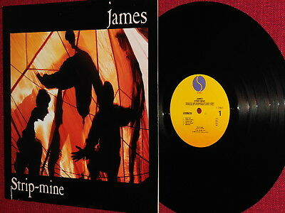 "James ""Strip-Mine"" LP 1988 Sire I 256 57"