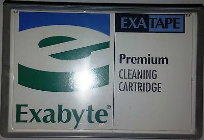 NEW Exabyte 8MM Premium Cleaning D8 18-Pass Tape Cartridge 309258