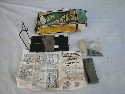 Old Vintage Easi-Way Bottle Cutter Kit