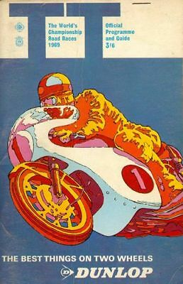 A3 Size 1960/'s Isle Of Man TT Motor Car Racing Vintage Poster #09