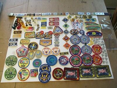 Lot of Cub Scout Patches and Pins