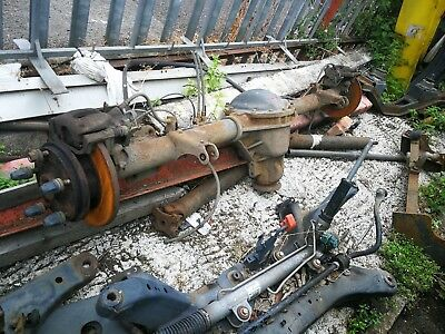 2006 - 2013 Ford Transit MK7 RWD T350 6 Speed Axle with Callipers Complete