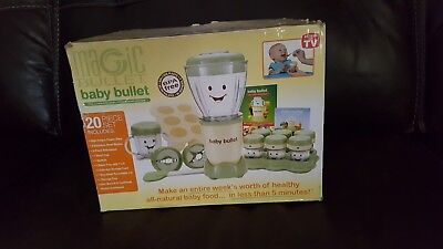 Baby Bullet 20 Pc Food Making System -New!!