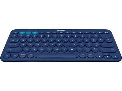 Logitech K380 blue Multi-Device QWERTZ Keyboard Tastatur #9025#
