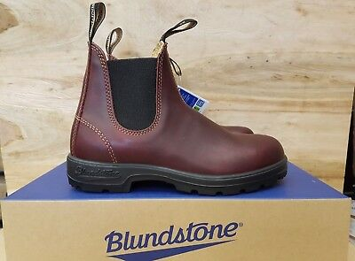 57fb13439a15 NEW IN THE Box Blundstone 585 The Leather Lined In Rustic Brown For ...