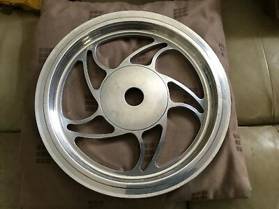 HARLEY DAVIDSON SPORTSTER Rear Belt Pulley Polished Billet