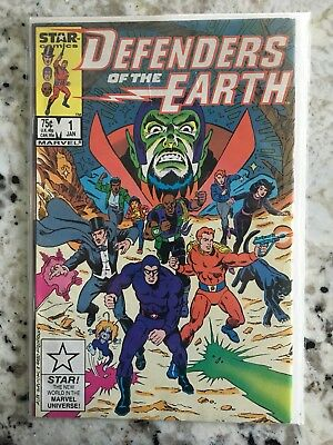 1987 Defenders of the Earth Comic Book #1 first Comics vintage toys High grade