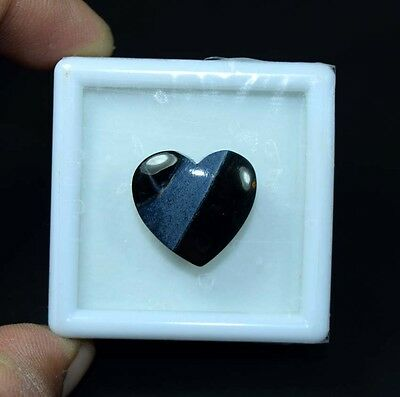 15.95 Cts. 100 % Natural Chatoyant Pietersite Heart Cabochon Loose Gemstones