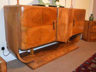 Superb Hille Figured  Walnut Sideboard c 1925-35