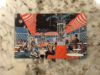 Excellent Cond. Disneyland 1955 Concept Postcard P11881 Main St Ice Cream Parlor