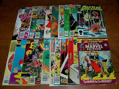DC Marvel Comic Lot of 20 Golden Silver Bronze Copper Age Low Grade GD- to VG+