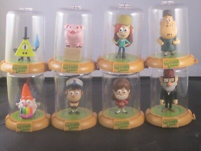New Domez Disney Gravity Falls Series 2 Complete set of 8