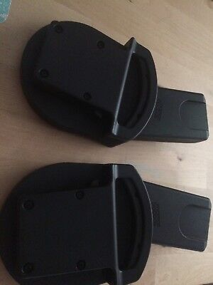 Mamas and Papas Car seat adaptors for Urbo/Sola/Sola2/Zoom