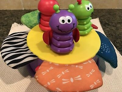 Lamaze By Learning Curve Sing and Spin Bugs Sensory Toy Musical