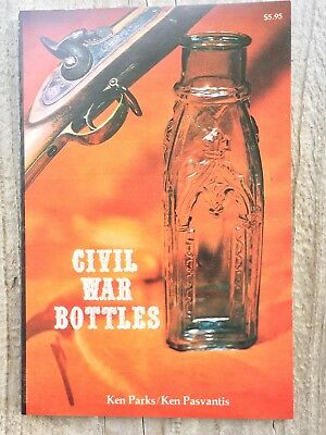 1978 CIVIL WAR BOTTLES Book USS Cario Ironclad Included INKS MUSTARDS ETC