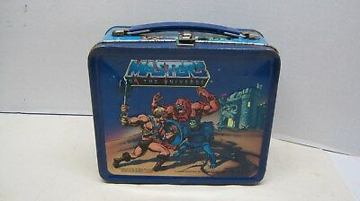 He-Man & Masters of the Universe Metal Lunch Box  Vintage 1983