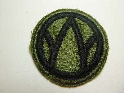 A   WW 2 U S Army 89th   Division   Cut Edge Snow Back Patch