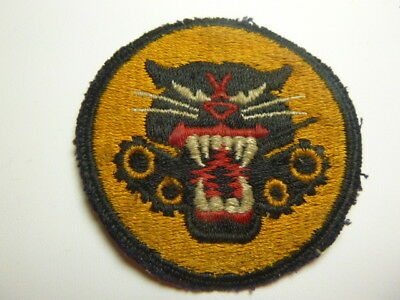 A   WW 2 U S Army Tank Destroyer Forces    Cut Edge Snow Back Patch