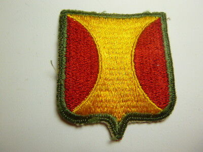 A   WW 2 U S Army Panama Canal Department   Cut Edge Snow Back Patch
