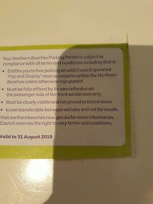Northern Beaches Parking Permit