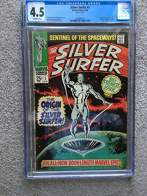 THE SILVER SURFER #1 (Aug 1968, Marvel) CGC 4.5