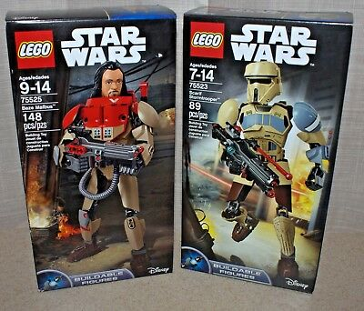 Lego Star Wars Buildable Figures lot New 75525 75524 Constractions 75523